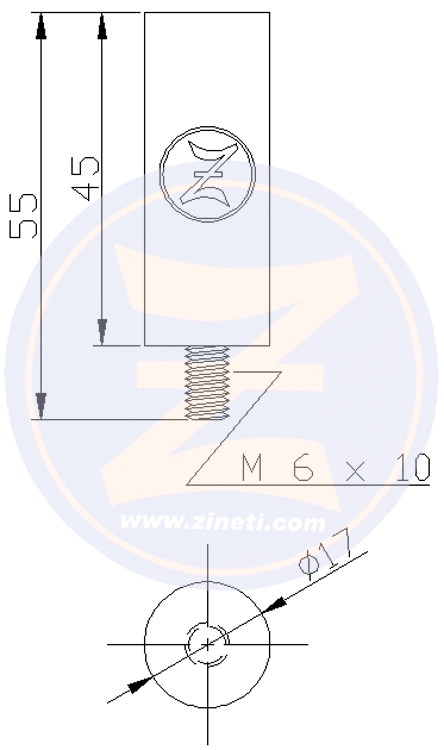 Zinc refill for cooling system inboard engine